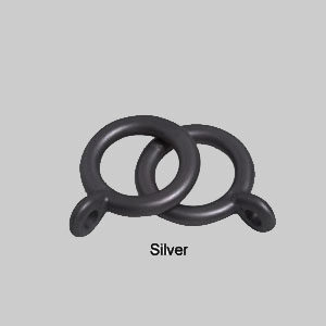 10 -13mm County Rings Plastic Pack of 10