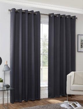 Huston-Readymade-Curtain—Charcoal