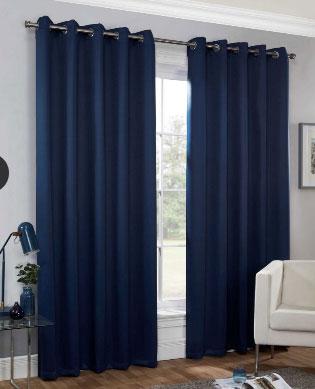 Huston-Readymade-Curtain—Navy