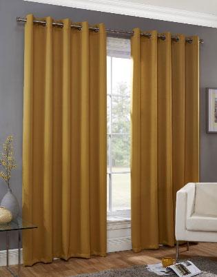 Huston-Readymade-Curtain—Ochre