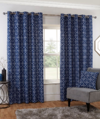 Kelso-Readymade-Curtain—Navy