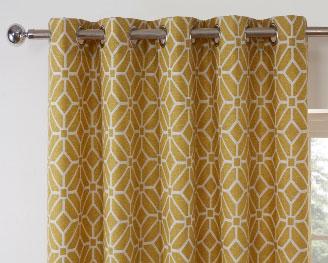 Kelso-Readymade-Curtain—Ochre-2