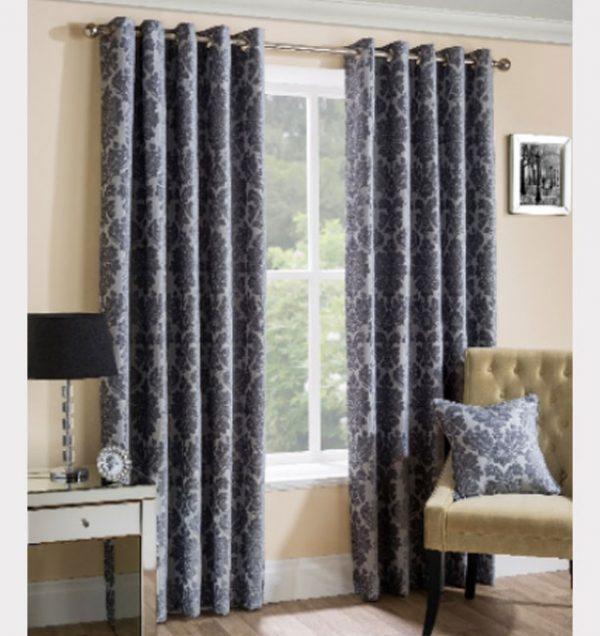 Park-Lane-Readymade-Curtain—Silver