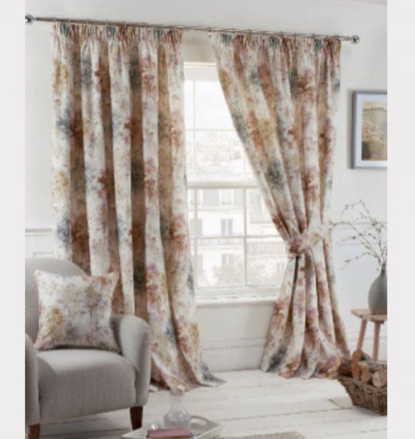 Woodland-Readymade-Curtain—Blush