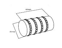 28mm Poles Apart Finial Allure
