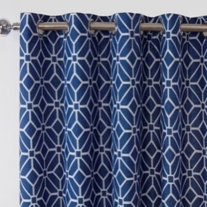 Kelso Readymade Curtain – Navy
